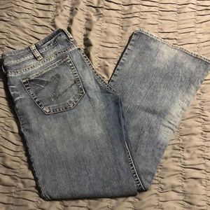 Silver Tina bootcut jeans size 34